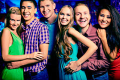 Partying together Stock Photography