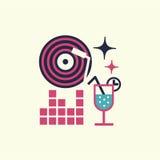 Partyjna wydarzenie ikona Fotografia Stock