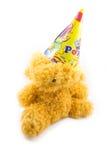 Partyjna zabawka, zabawka z partyjnym kapeluszem na białym tle Zdjęcia Royalty Free