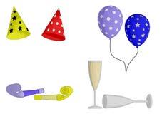 Partyjne przysługi ilustracja wektor
