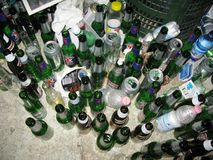 Partyjne resztki Zdjęcie Stock