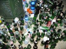 Partyjne resztki Zdjęcia Stock