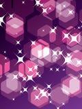 partyjne tło purpury Zdjęcia Royalty Free