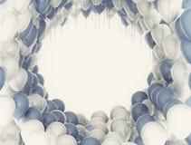 Partyjni balony Obrazy Stock