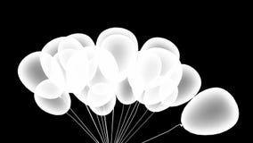 Partyjni balony royalty ilustracja