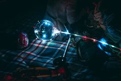 Partyjni baloon światła zdjęcie royalty free