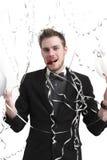 Partyjni faceta mienia balony Obrazy Stock