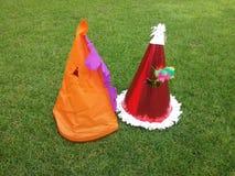Partyjni kapelusze Obraz Royalty Free