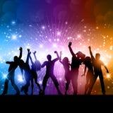 Partyjni ludzie tło Obraz Royalty Free