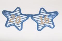 Partyjni okulary przeciwsłoneczni z 2016 podtytułem Obrazy Stock