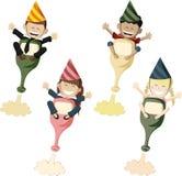 Partyjni Rocketeers Zdjęcia Royalty Free