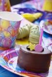 partyjni urodzinowi children Zdjęcia Royalty Free