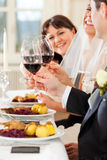 partyjny gość restauracji ślub Fotografia Royalty Free
