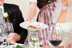 partyjny gość restauracji ślub Zdjęcie Royalty Free