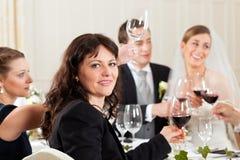 partyjny gość restauracji ślub Zdjęcie Stock