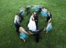 partyjny ślub Fotografia Stock