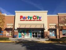 Partyjny miasto sklep Obraz Stock