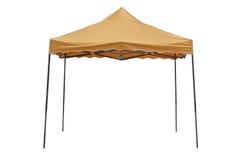 Partyjny namiot na białym tle Zdjęcia Royalty Free