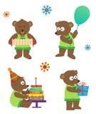 Partyjny niedźwiedź Obraz Royalty Free