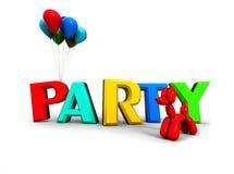 Partyjny pojęcie Zdjęcia Stock