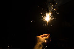 Partyjny sparkler Zdjęcie Royalty Free