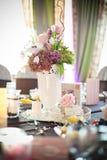 Partyjny stołowy położenie Zdjęcie Stock