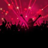 Partyjny tłum Fotografia Royalty Free