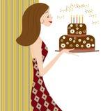 Partykarte Lizenzfreies Stockfoto