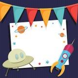 Partykarte Stockbilder