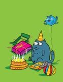 Partykatze Lizenzfreies Stockbild