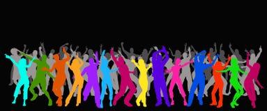 Partyleute Lizenzfreies Stockfoto