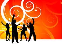 Partyleute Stockfoto