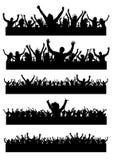 Partyleute Stockfotografie