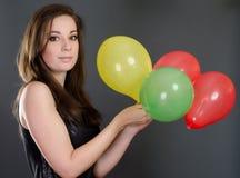 Partymädchen Lizenzfreies Stockfoto