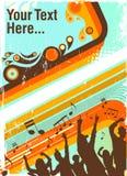 Partyplakat Lizenzfreie Stockbilder