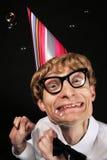 Partysonderling Stockfoto