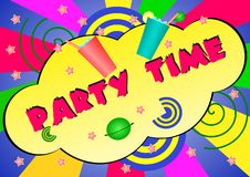 Partyzeit Stockbilder
