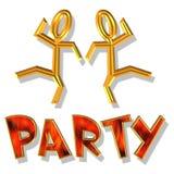 Partyzeit Lizenzfreie Stockbilder