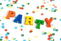 Partyzeit Stockbild