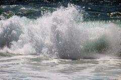 Parującego Atlantyckiego oceanu, morze fala Zdjęcia Royalty Free
