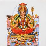 Parvati. Hindu Goddess of love and devotion, beauty, mother of Universe, mother of Ganesha and wife of Shiva, India Stock Images