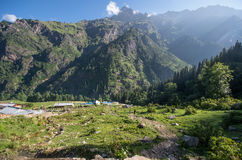 Parvati Vally, Himachal Pradesh - India Stock Image