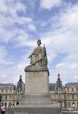 Paryż, august 16,2013-Statue wontonu most w Paryż Zdjęcia Royalty Free