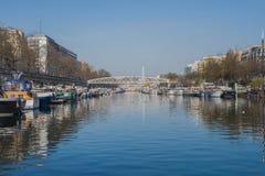 Paryż, Bastille, schronienie zdjęcia stock