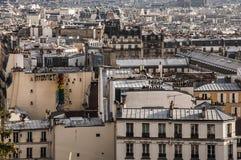 Paryż dach Zdjęcie Royalty Free