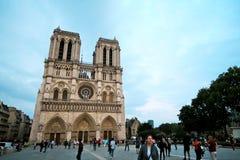 Paryż Francja, Czerwiec, - 7, 2016: Notre Damae katedra w Paryż, Francja na Czerwu 7,2016 fotografia royalty free