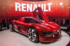 Elektryczny samochód Renault deZir Zdjęcia Royalty Free