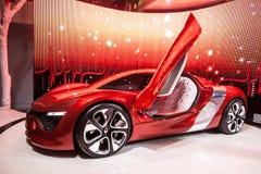 Elektryczny samochód Renault deZir Obraz Royalty Free
