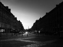 Paryż Francja, KWIECIEŃ, - 2017 eiffel noc Paris wierza Sławny dziejowy punkt zwrotny na quay rzeczny wonton romantyczny Zdjęcia Stock