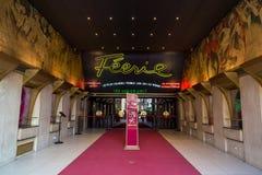 Paryż, Francja, Marzec 26, 2017: Piękny Paryż, Moulin szminka, Francja Obrazy Royalty Free
